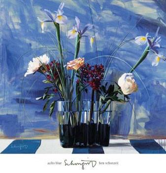 Aalto Blue Художествено Изкуство