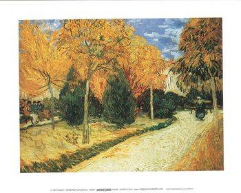 Autumn Garden Художествено Изкуство
