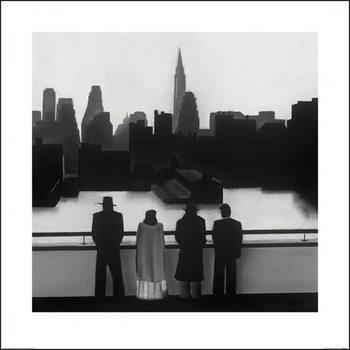 David Cowden - Skyline Художествено Изкуство