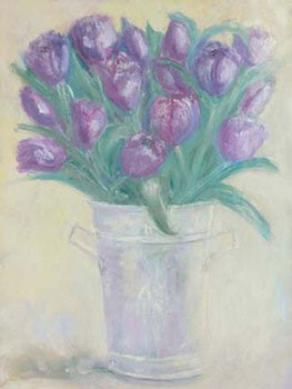 French Flower Buckets ll Художествено Изкуство