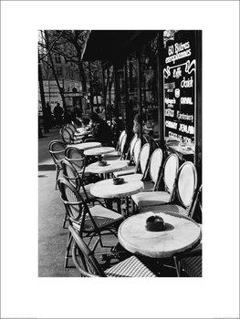 Joseph Squillante - Parisian Café Художествено Изкуство