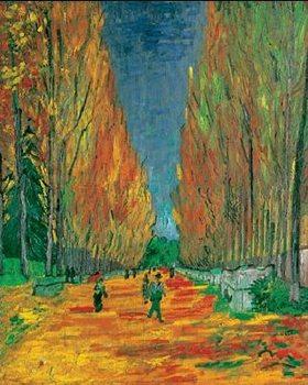 Les Alyscamps, 1888 Художествено Изкуство