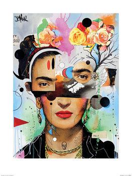 Loui Jover - Kahlo Anaylitica Художествено Изкуство