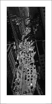 Pete Seaward - New York street Художествено Изкуство