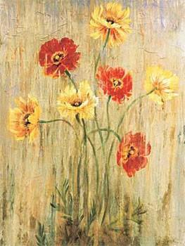 Poppy Serenade Художествено Изкуство