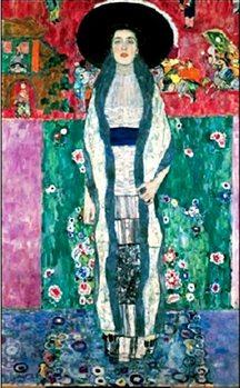 Portrait of Adele Bloch-Bauer II Художествено Изкуство