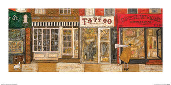 Sam Toft - On a Street Where You Live Художествено Изкуство