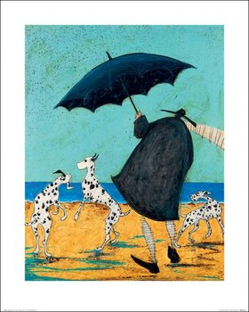 Sam Toft - On Jack's Beach Художествено Изкуство