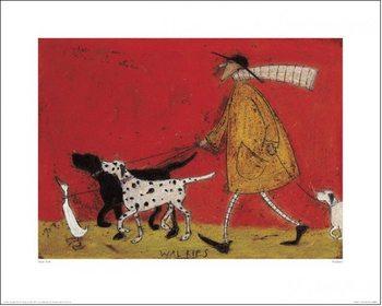 Sam Toft - Walkies Художествено Изкуство