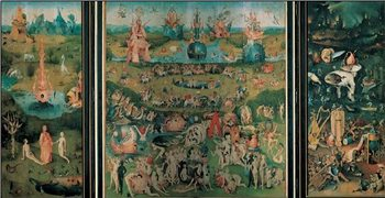 The Garden of Earthly Delights, 1503-04 Художествено Изкуство
