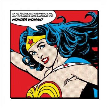 Wonder Woman - Of All People Художествено Изкуство