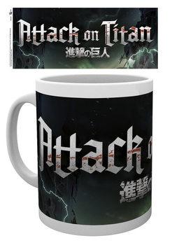 Attack On Titan – Logo Чаши