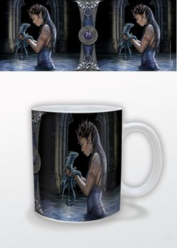 Fantasy - Water Dragon, Anne Stokes Чаши