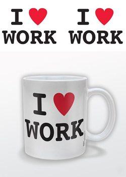 I (heart) Work – I Love Work Чаши