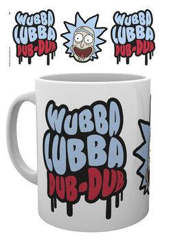 Rick and Morty - Wubba Lubba Dub Dub Чаши