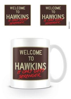 Stranger Things - Welcome To Hawkins Чаши