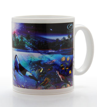 Harmonious orcas - lassen Чашка