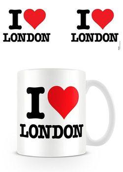 I Love London Чашка