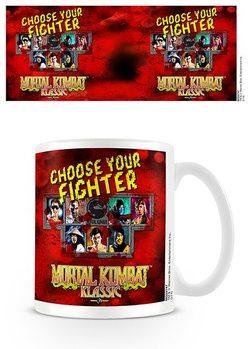 Mortal Kombat - Choose Your Fighter Чашка