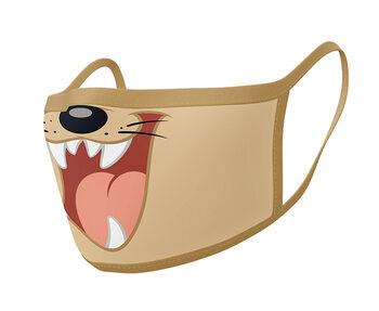 маски за лице Looney Tunes - Taz (2 pack)