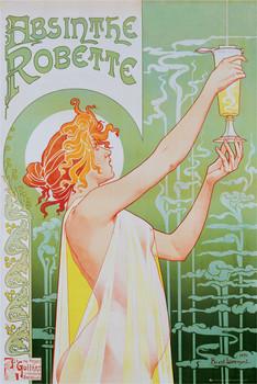 Absinthe Robette - плакат