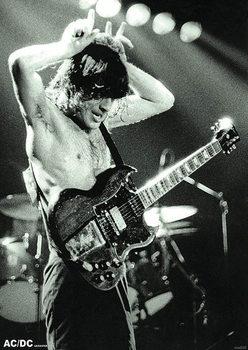 AC/DC - Angus Young Young плакат