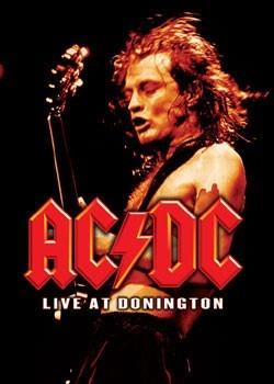 AC/DC - donington live плакат
