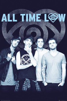 All Time Low - Colourless плакат
