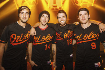 All Time Low - Group - плакат