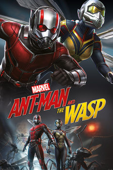 Ant-Man and The Wasp - Dynamic плакат
