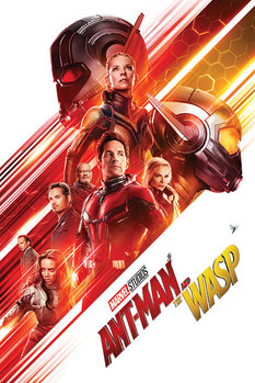 Ant-Man and The Wasp - One Sheet плакат