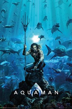 Aquaman - One Sheet плакат