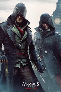 Assassin's Creed Syndicate - Siblings плакат