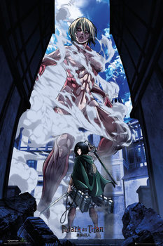 Attack On Titan - Part 2 Art - плакат