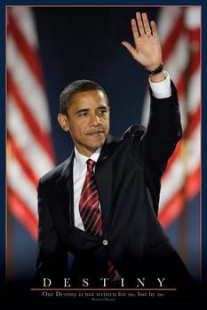 Barack Obama - osud плакат