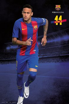 Barcelona 2016/2017 - Neymar плакат