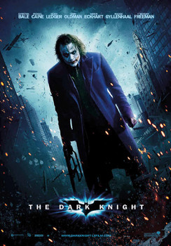 BATMAN DARK KNIGHT - joker - плакат