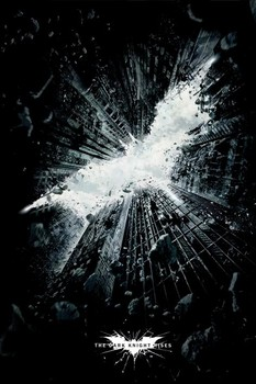 BATMAN DARK KNIGHT RISES - city плакат