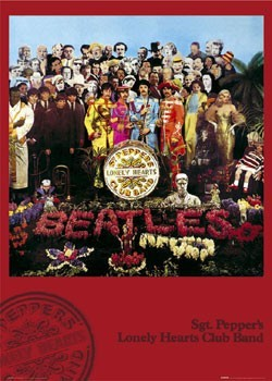 Beatles - sgt.pepper плакат