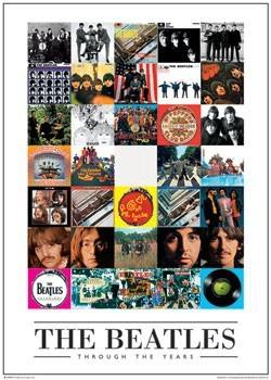 Beatles - through the years - плакат
