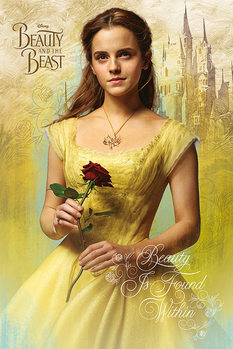 Beauty and The Beast - Belle плакат