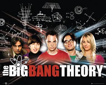 BIG BANG THEORY - плакат
