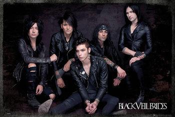 Black Veil Brides - Group Sit плакат