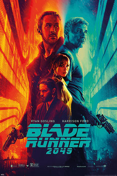 Blade Runner 2049 - Fire & Ice плакат