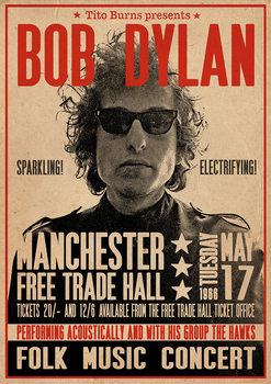 Bob Dylan - Poster плакат