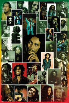 Bob Marley - Photo Collage - плакат