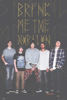 Bring Me The Horizon - Group Black плакат