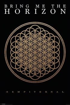 Bring me the horizon - sempiternal плакат