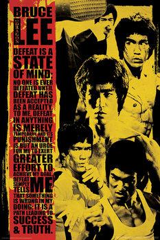Bruce Lee - Collage плакат