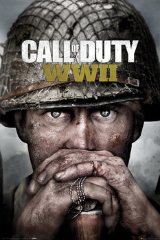 Call Of Duty: Stronghold - WWII Key Art плакат